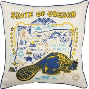 Oregon State Pillow by Kathy